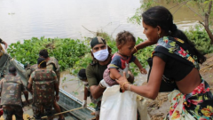 Medical teams of Army Doctors and Nursing Assistants have also been deployed for providing necessary first aid and medicines to locals being evacuated from flood-prone areas.