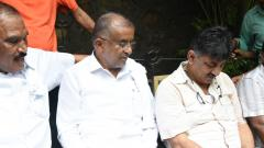 High drama as Shivakumar, two others detained by Mumbai police