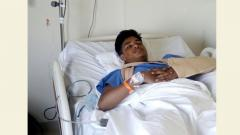 Student hit by car during school run