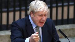 Britain's Johnson sets off on post-election Brexit mission