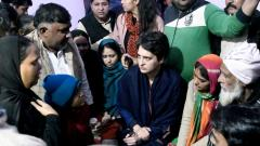Anti-CAA protest: Priyanka makes unscheduled visit to Muzaffarnagar, Meerut; meets affected families