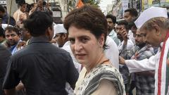 UP govt remembers farmers only in advertisements: Priyanka Gandhi