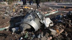 US gives Ukraine 'important data' on Iran plane crash