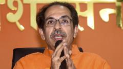 Shiv Sena  stresses fifty-fifty  formula for sharing power with BJP