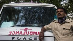 Vijay is an ambulance driver whose job is to ferry the deceased from COVID-19 hospitals to the crematorium.