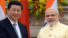 No stone left unturned in welcoming Modi, Xi Jinping
