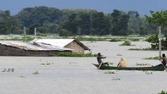 Assam flood scene still grim; 87 dead, over 24 lakh marooned