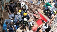 Two persons were killed and 15 others rescued from debris of two buildings that crashed in the city and its suburbs on Thursday afternoon, the BMC Disaster Cell said. A few others could also be trapped, it added.