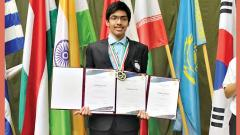 Boy from Pune strikes gold in International Olympiad
