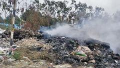 Garbage burning troubles city residents
