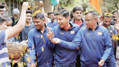 Giripremi eco-expedition team felicitated