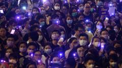 Hong Kong police round up activists as mass rally called-off