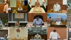 PM Narendra Modi addresses CMs about planning for Unlock 2.0