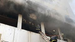 Major fire in Mumbai building; 1 dead