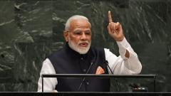 At UNGA, PM Modi asks int'l community to stand united against terrorism