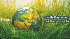 Earth Day 2020: Let the planet breathe