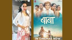 Maanyata happy with the response to 'Baba' at the Golden Globes