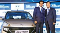 Hyundai's all new Santro back on Indian roads