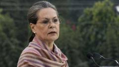 Sonia Gandhi writes to PM Narendra Modi;  expresses support to coronavirus lockdown