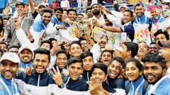 Confetti, streamers and selfies bring Khelo India to a close