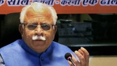 Haryana CM tests Covid positive ahead of Assembly session
