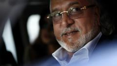 Indian tycoon Vijay Mallya leaves Westminster Magistrates' Court in central London on Ocober 3, 2017.