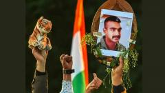IAF Wing Commander Abhinandan returns home from Pakistan