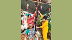 Woman from Bhor freed of dreadlocks