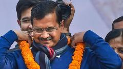 Arvind Kejriwal to be sworn in as CM on Feb 16 at Ramlila Maidan
