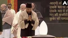 Prez, PM pay tributes to Vajpayee on his 95th birth anniversary