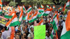 'Shoot the traitors' slogans at march called against 'jihadi terrorism'