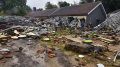 Tsunami set off by volcano sweeps Indonesia beach; 168 dead