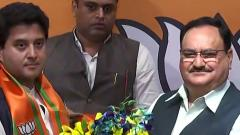 Scindia joins BJP, says Cong denying reality and country's future secure in Modi's hands