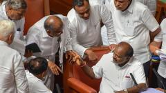 Congress-JDS govt to face floor test on July 18