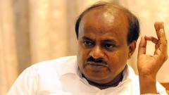 Will not plead for support with Cong leaders opposed to son's candidature: Kumaraswamy