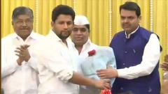 Maharashtra Oppn leader's son joins BJP