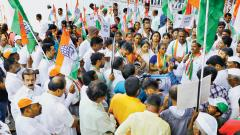 Congress protests water cut in Pimpri-Chinchwad area