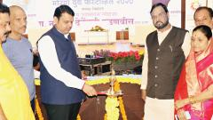 Former CM Fadnavis interacts with youth