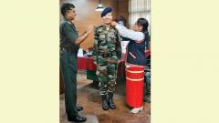 Doming is 1st woman Lt Col from Arunachal