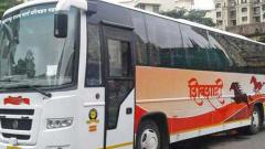 Drunk driver hijacks Shivshahi bus in city
