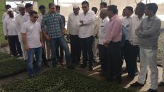 Egyptian delegation visits Agrowon Smart Village