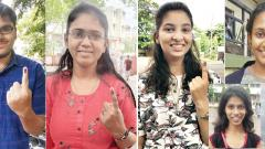 First-timers vote for brighter tomorrow