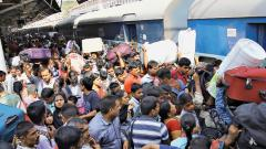 No special trains; passengers forced to cancel their tickets and drop plans
