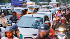 Rains bring traffic chaos, waterlogging