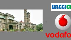 SPPU signs MoU with MCCIA and Vodafone