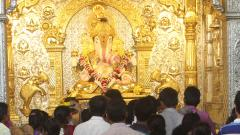 City temples to be closed