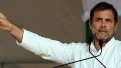 Cases against me are like medals on my chest, says Rahul