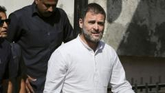 Rahul pleads not guilty in defamation suit; gets bail