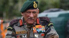 General Bipin Rawat on China: Forces are prepared, if talks fail