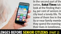 Loneliness a major challenge for senior citizens in the city, says ASCOP survey